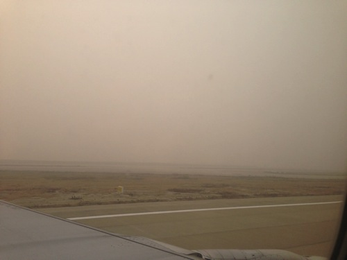 上海浦東空港 PM2.5