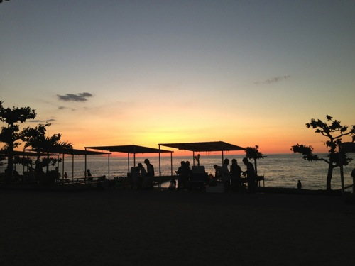 沖縄  夕陽