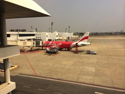【エアアジア搭乗記】 バンコク(ドンムアン空港)からカンボジア・プノンペン国際空港まで行ってきた。