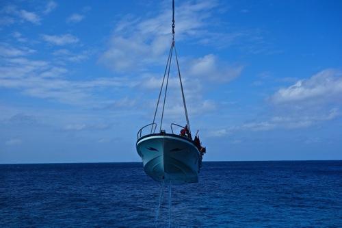北大東島 船