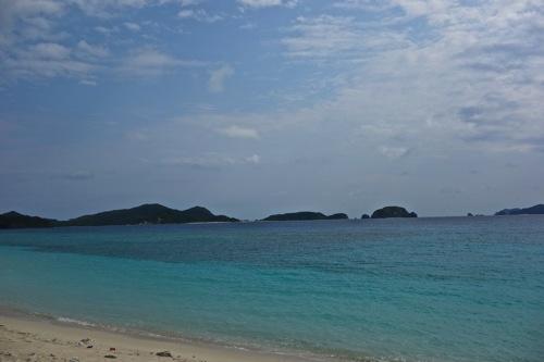 安室島 海 キャンプ