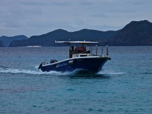 安室島 ボート