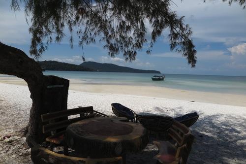 ロンサレム島 カンボジア