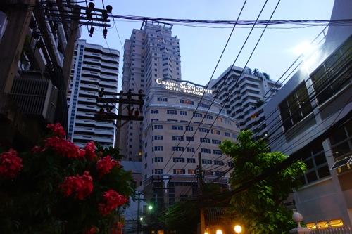 グランド スクンビット ホテル バンコクに宿泊しました。