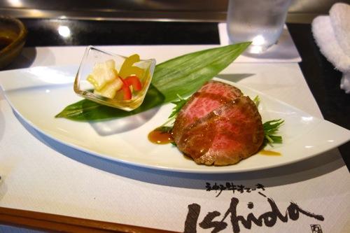 高級神戸牛はランチに食らうのがお得!神戸牛ステーキ Ishida三宮店に行ってきた。