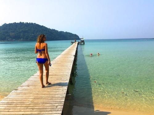 タイ・クッド島の旅。そこは東南アジアの海と一体化できる島だった。