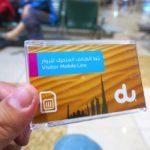 ドバイ国際空港(UAE)でプリペイドsimカードを購入する方法