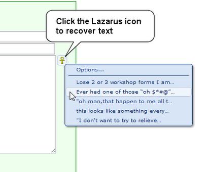 フォームの内容を復元(リカバリ)できるchrome拡張