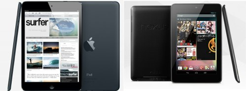 Nexus7 iPad mini どっち?