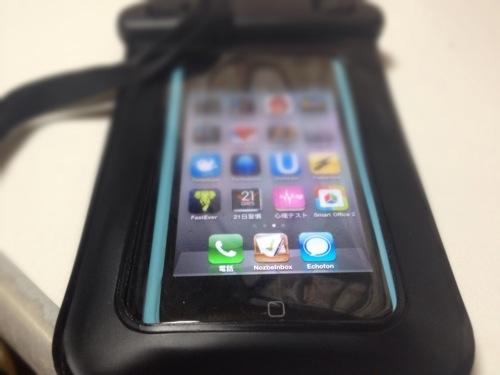 海やお風呂で使える防水iPhone/Androidケースを買ったよ!