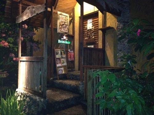 2012年パラオ旅行記 レストラン- Jungle Barに行ってきたよ