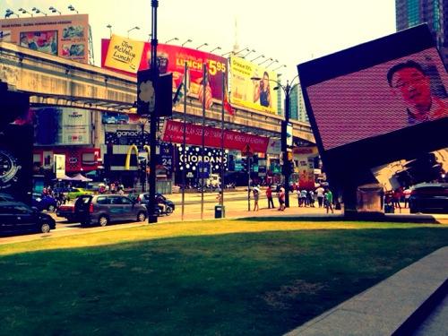 2012年マレーシア・シンガポール旅行記 クアラルンプールのレストラン散策