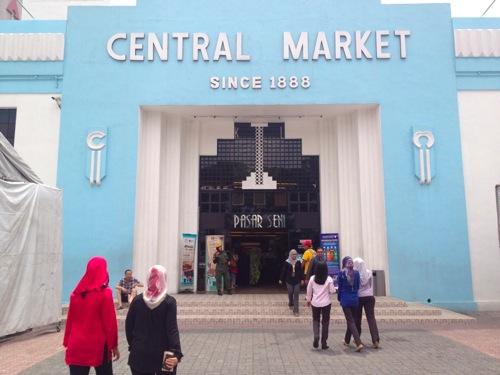 2012年マレーシア・シンガポール旅行記 セントラルマーケットに行ってきたよ。