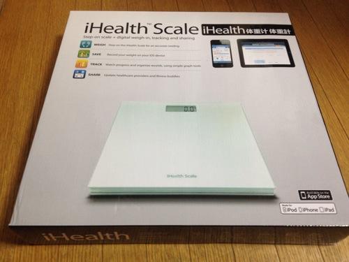 [開封]iPhone・iPadでダイエットする体重計 iHealth Wireless Bluetooth Scale購入したよ!