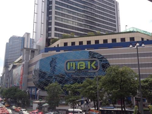 2012年タイ旅行記 MBKセンターから大雨のカオサン通り