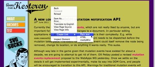 Chrome拡張「Create Link」で今みているウェブサイト・ブログのリンクを簡単に作る