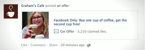 Facebookクーポン(Facebook Offers)が日本でも利用可能に。