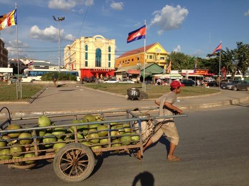 タイからカンボジアに陸路で国境越えした!