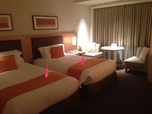 ホテルのベッドにある足元の布って何なのか知ってますか?