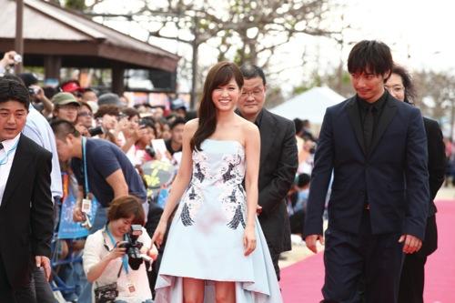 2013年第5回沖縄国際映画祭レッドカーペットに行ってきました。