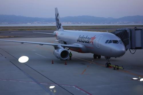 【LCC】ジェットスターで成田 – 関空の往復航空券がたったの6,380円だったので行ってきた!