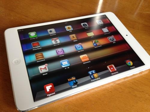 iPad mini WiFi+cellularモデル(ソフトバンク)は海外のプリペイドSimカードが使える!