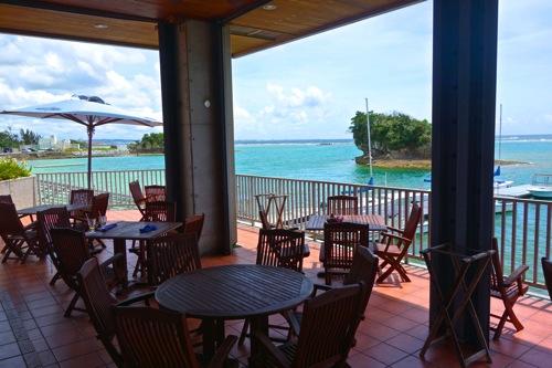 【沖縄】本当は教えたくない。米軍施設の海が見えるレストラン「Seaside Ristorante(カデナマリーナ内)」