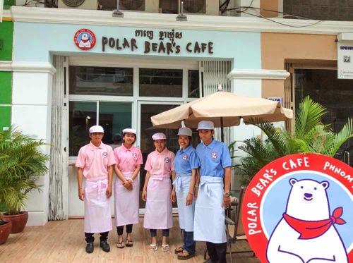 カンボジア・プノンペンでカフェ「POLAR BEAR'S CAFE」をオープンした渡辺さんにインタビューしてきました。| #カンボジア・ブログ観光大使