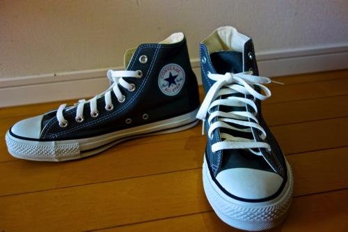 Converse・All Starハイカット(グレー)を購入しました。